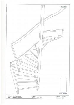 3D tekening trap