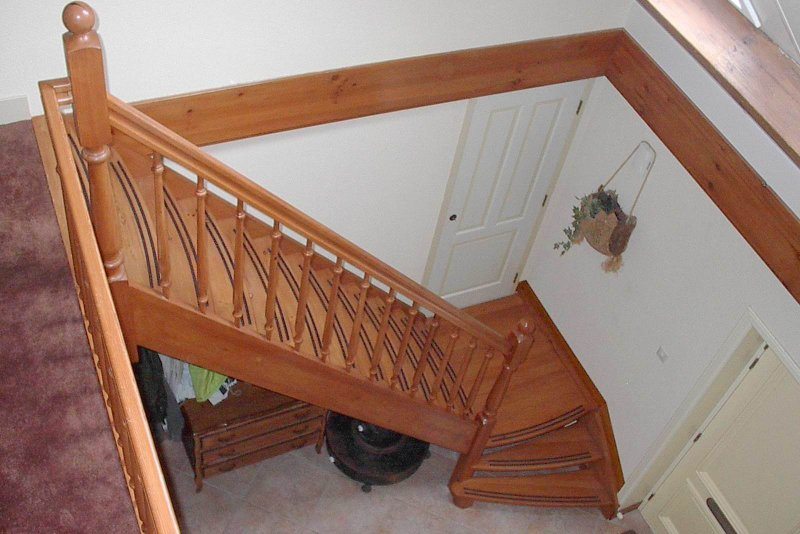 Trap met bordes van der geest trappen van der geest trappen - Renovatie van een houten trap ...
