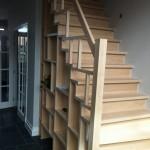 Kast in trap op maat