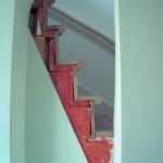 Dektreden trap voor
